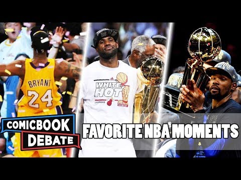 Our Introduction To The NBA | Favorite Basketball Moments | LeBron | Kobe | Durant
