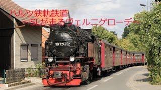 ハルツ狭軌鉄道~SLが走るヴェルニゲローデ~