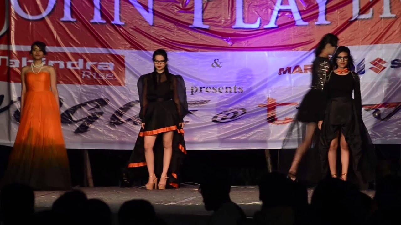 Kamala Nehru College Performance At Lbsim Fashion Show Youtube