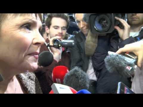 Dana Rosemary Scallon arrives at Dublin Castle