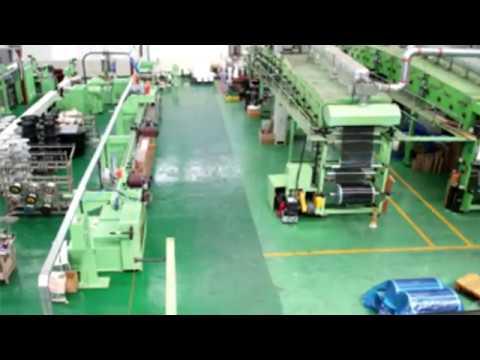 Производство плёночного тёплого пола - видео с заводского цеха