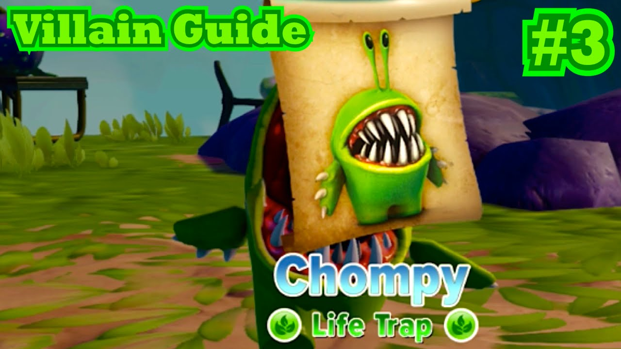 Skylanders trap team villain guide 3 chompy youtube for Real life fishing games
