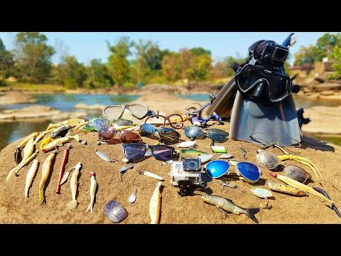 Thumbnail: Searching for River Treasure! - GoPro, Diamonds, Ray-Bans, Costas, Fishing Tackle and MORE!