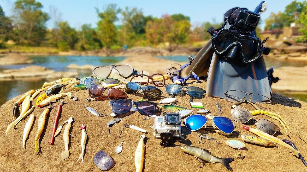 """Вы не поверите, какие """"сокровища"""" можно найти на дне озера."""