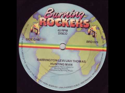 Barrington Levi & Jah Thomas - Hunting Man + Dub - 12