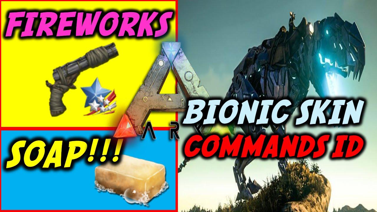 Ark bionic t rex skin cheat command plus soapfireworks flare gun ark bionic t rex skin cheat command plus soapfireworks flare gun tutorial youtube malvernweather Choice Image