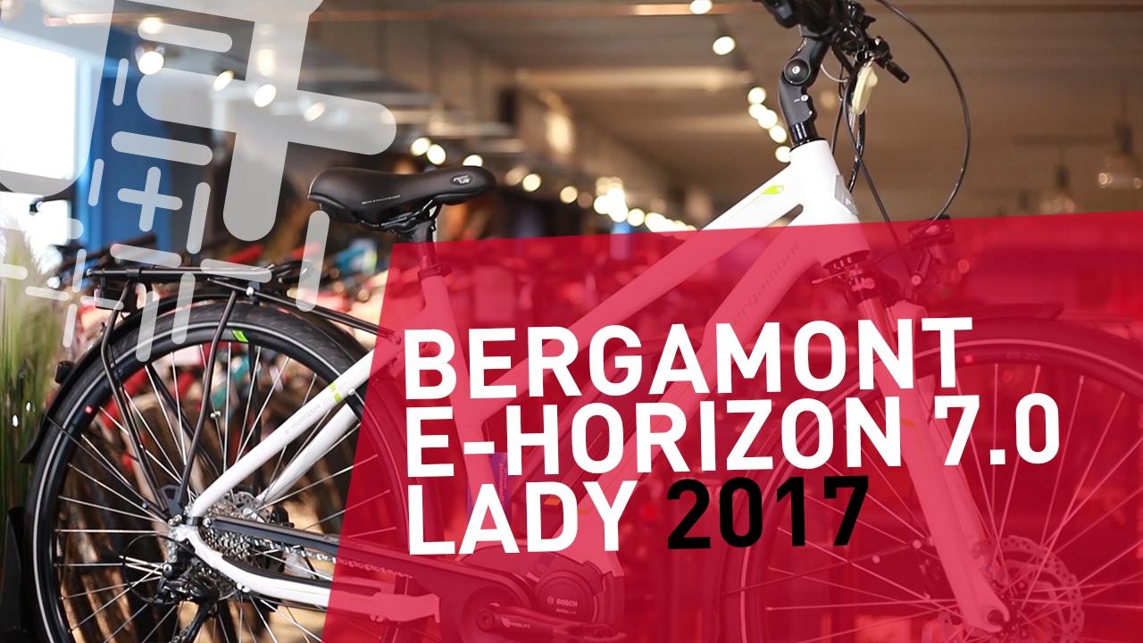 1e91e293399 Bergamont E-Horizon 7.0 Lady - 2017 - YouTube