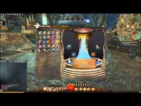 GOBERS Guild Wars 2 Mystic Forge Exotic Weapons (knights Pearl Bludgeoner)