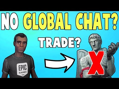 Global Chat Disabled! No Trading & Spam Anymore! | Fortnite Save The World News