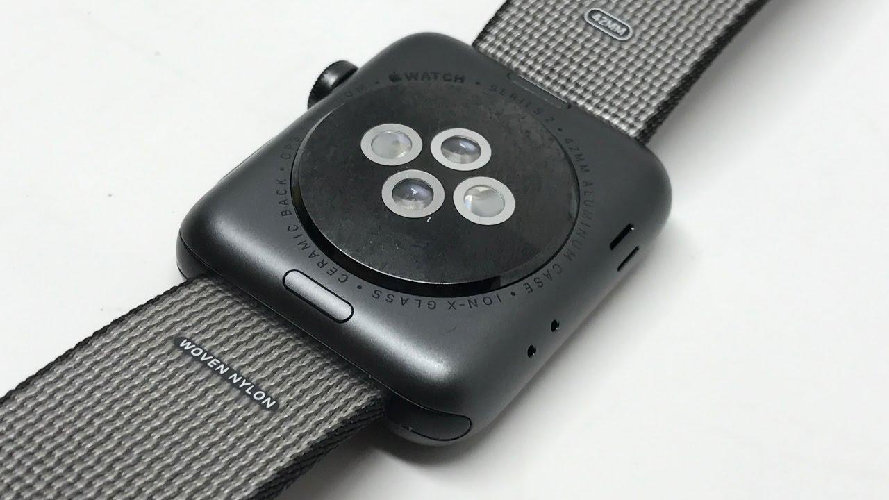 release date: 1d4d1 ae980  Watch Series 2 42mm Case Space Gray Aluminium Woven Nylon Black【4K】