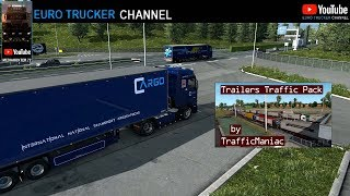 (ETS2 1.35) Trailers Traffic Pack by TrafficManiac v 3.1 (ETS2 TRAFFIC MODS)(BEST MODS)