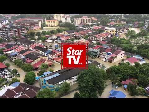 Massive floods in Penang