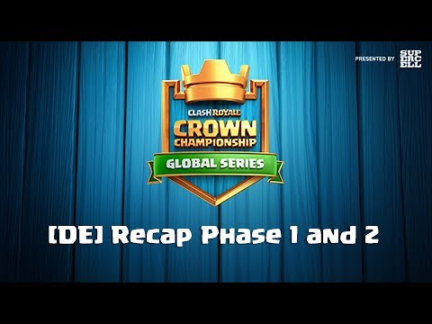 [DE] Crown Championship Global Series Recap Phase 1 and 2