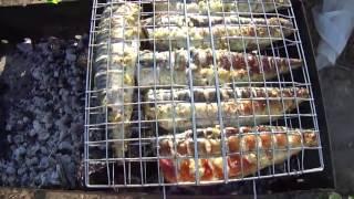 Шашлык из рыбы рецепты. Жарим на решётке culina.net.ua