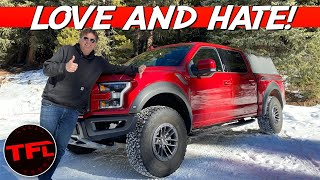 Here's What I Love And Hate About My New Ford Raptor After Owning It For A Month!
