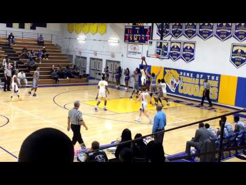 KAMAU MITCHELL Full Game Stone vs LaPlata MD State 2A Playoffs 2-24-17