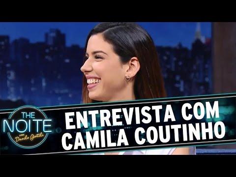 The Noite (26/08/16) - Entrevista com Camila Coutinho