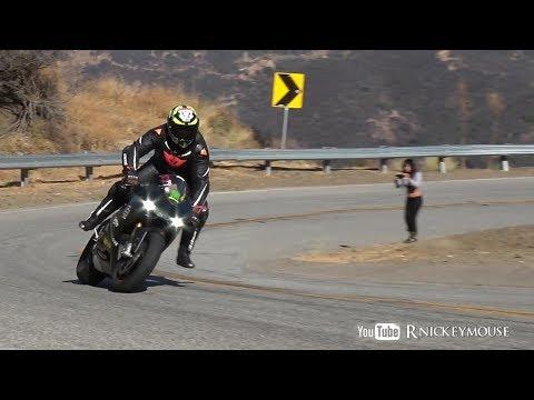 Elbow Dragging Close Call , Street Riding + POV , Harley Stunt Rider