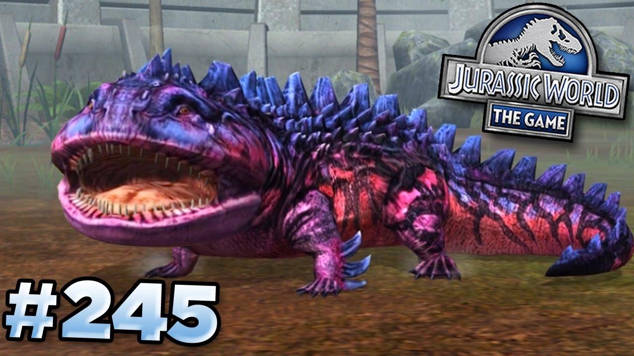 maxed super koolaid jurassic world the game ep245 hd youtube