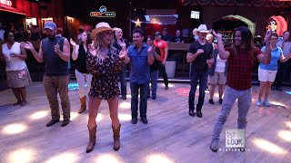 Line Dancing at Round Up Saloon