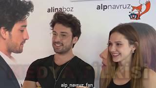 Alp Navruz ve Alina Boz Elimi Bırakma dizisi hakkında röportaj