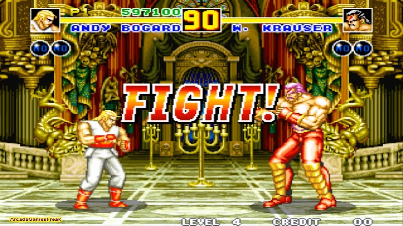 Fatal Fury 2 arcade Gameplay Playthrough Longplay - YouTube