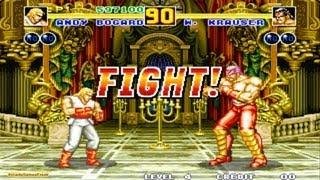 Fatal Fury 2 arcade Gameplay Playthrough Longplay