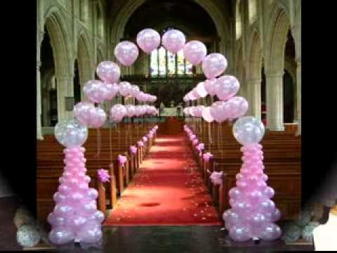 Easy wedding balloon decorations ideas youtube for Balloon decoration ideas youtube