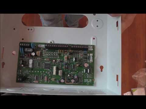 Installing Paradox MG5050 alarm system