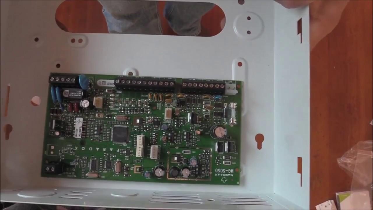 maxresdefault installing paradox mg5050 alarm system youtube paradox mg5050 wiring diagram at bayanpartner.co