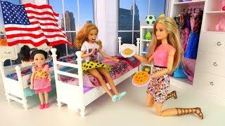 ВІДМОВЛЯЄТЬСЯ ЇСТИ Американську Їжу! Мультик #Ляльки Барбі Іграшки Для дівчаток Ай Лялька тіві