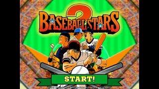 Back In My Play ! Baseball Stars 2 Neo Geo !