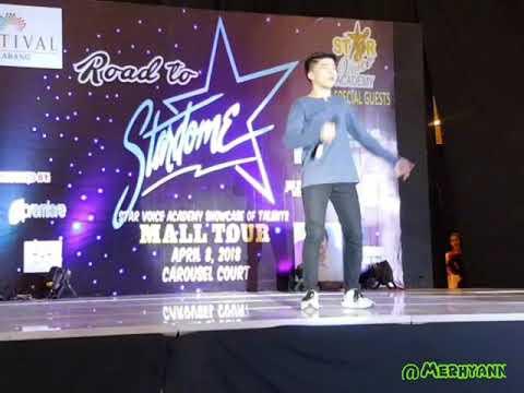 Road to Stardome Mall Tour by Star Voice Academy -Isaac Zamudio Kilometro