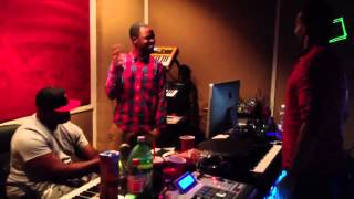 "TRAVIS MALLOY AND R&B SINGER ""MARIO"" SHEDDING"