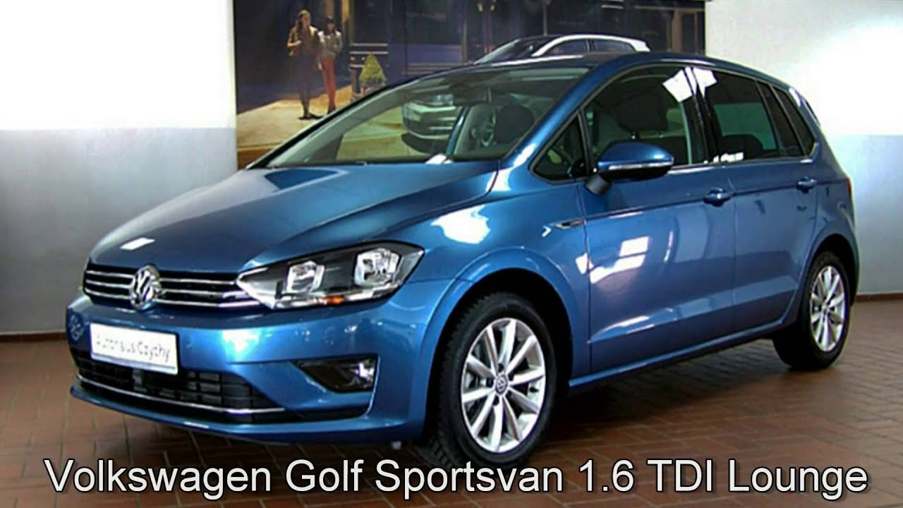 volkswagen golf vii sportsvan 1 6 tdi 110 hp bmt dsg. Black Bedroom Furniture Sets. Home Design Ideas