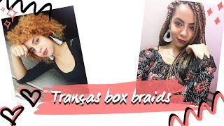 Tranças / Box Braids com linha de crochê (iniciantes)