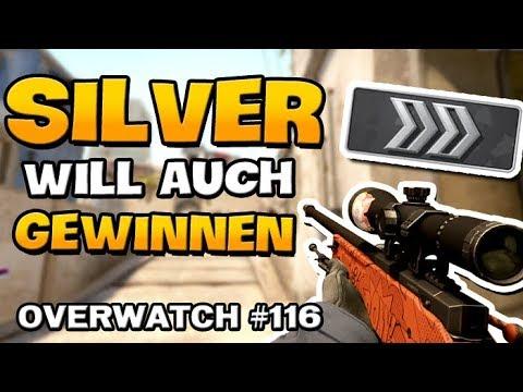 Der Silver will auch mal gewinnen - CS:GO Overwatch [German]