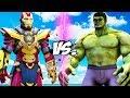 THE HULK vs IRON MAN (Thanos Buster)