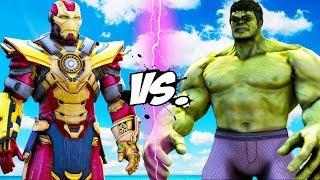- THE HULK vs IRON MAN Thanos Buster