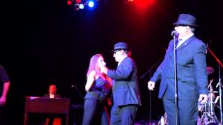 "36-22-36 LIVE at The Paramount Dan Aykroyd and Jim Belushi ""The Blues Brothers"" 8/9/2013"