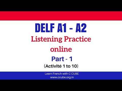 DELF A1 A2 Listening Exercises Practice Online French Listening Comprehension Examen