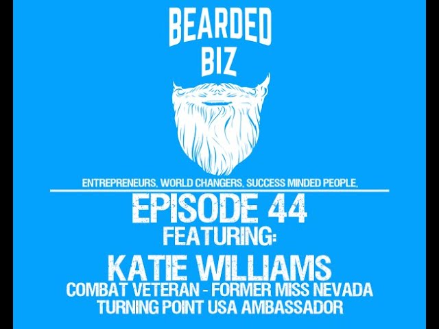 BB - Ep. 44 - Katie Williams - Combat Veteran, Former Miss Nevada, & Turning Point USA Ambassador