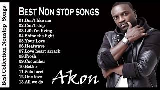 Akon Greatest Hits Playlist || Akon Collection All Time [Music Favorite]