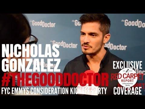 Nicholas Gonzalez, Dr Neil Melendez, ed at ABC's TheGoodDoctor Emmys FYC Event