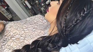 Triple Braided Hair Tutorial Thumbnail