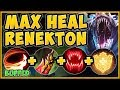 NEW BUFFED RENEKTON Q + MAX HEALING RUNES = AN UNTOUCHABLE CROC! RENEKTON GAMEPLAY League of Legends