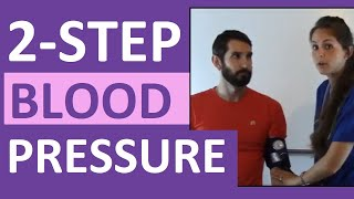 How to Take a Blood Pressure Using 2-step (Two-Step) Method