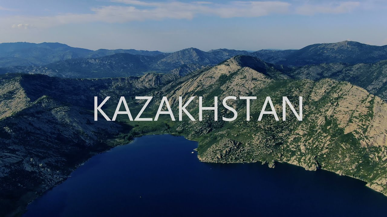 KAZAKHSTAN in 4K by drone   Невероятные места Казахстана 2021