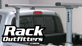 Thule 500xt Xsporter Pro Truck Rack For '05-'15 Toyota Tacoma W/deck Rail System By Rack Outfitters