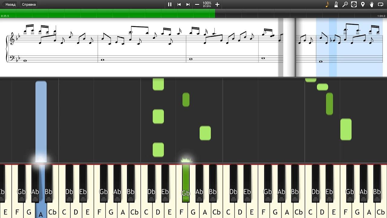 clubbed to death - Matrix soundtrack - Rob Dougan - Piano tutorial and  cover (Sheets + MIDI)
